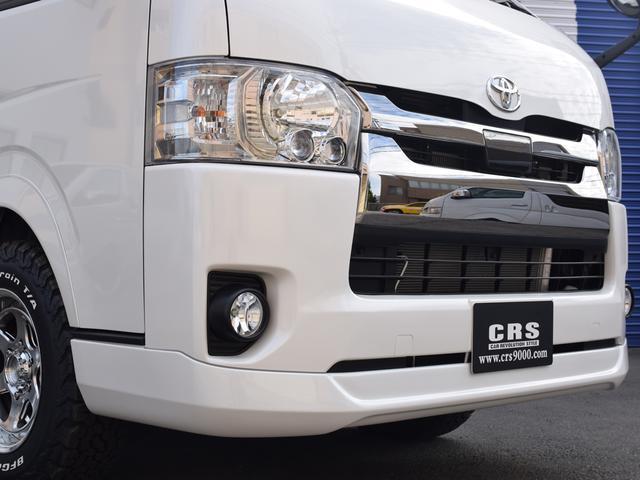 スーパーGL ダークプライムII CRSスタイルPKG ディーゼル4WD 2ピースESSEX16アルミホイールカスタム オーバーフェンダー オールテレーンタイヤ(6枚目)