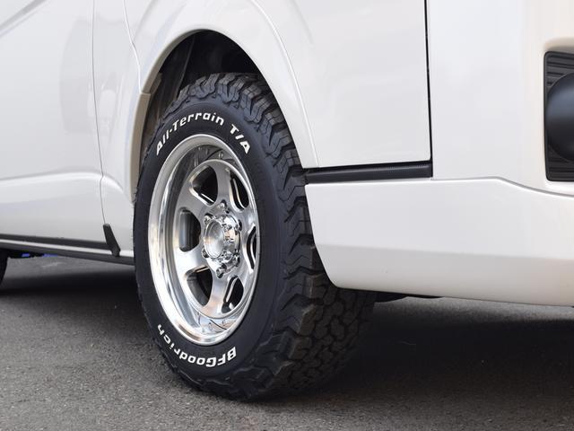 スーパーGL ダークプライムII CRSスタイルPKG ディーゼル4WD 2ピースESSEX16アルミホイールカスタム オーバーフェンダー オールテレーンタイヤ(15枚目)