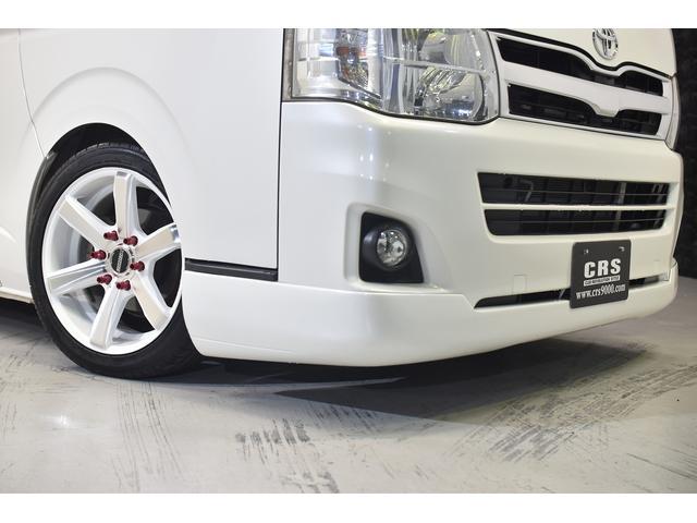 ロングスーパーGL 自社ユーザー買取車・ES18インチAW・フロントリップッスポイラー・リアスムージングバンパー・シートカバー・ケンウッドSDナビゲーション・HIDヘッドライト・ホワイトパール・AC100V電源(7枚目)
