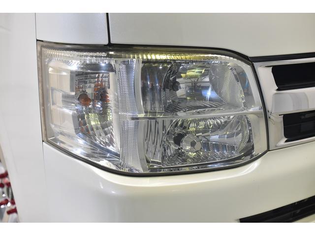 ロングスーパーGL 自社ユーザー買取車・ES18インチAW・フロントリップッスポイラー・リアスムージングバンパー・シートカバー・ケンウッドSDナビゲーション・HIDヘッドライト・ホワイトパール・AC100V電源(12枚目)