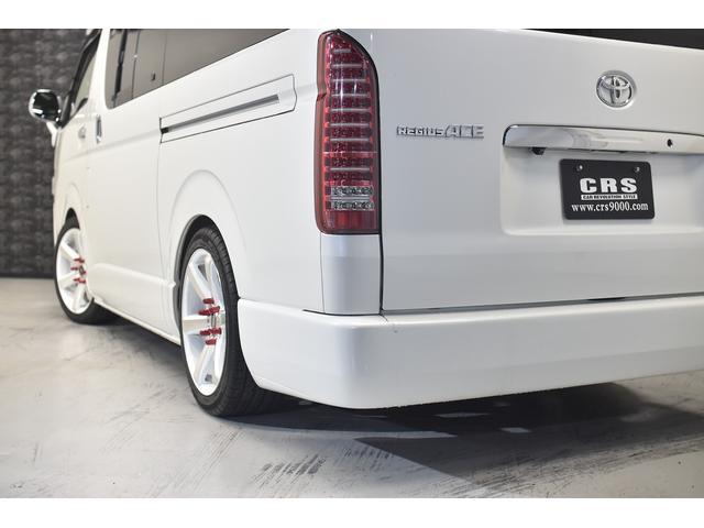 ロングスーパーGL 自社ユーザー買取車・ES18インチAW・フロントリップッスポイラー・リアスムージングバンパー・シートカバー・ケンウッドSDナビゲーション・HIDヘッドライト・ホワイトパール・AC100V電源(18枚目)