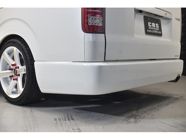 ロングスーパーGL 自社ユーザー買取車・ES18インチAW・フロントリップッスポイラー・リアスムージングバンパー・シートカバー・ケンウッドSDナビゲーション・HIDヘッドライト・ホワイトパール・AC100V電源(21枚目)
