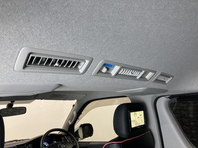 ロングスーパーGL 自社ユーザー買取車・ES18インチAW・フロントリップッスポイラー・リアスムージングバンパー・シートカバー・ケンウッドSDナビゲーション・HIDヘッドライト・ホワイトパール・AC100V電源(38枚目)
