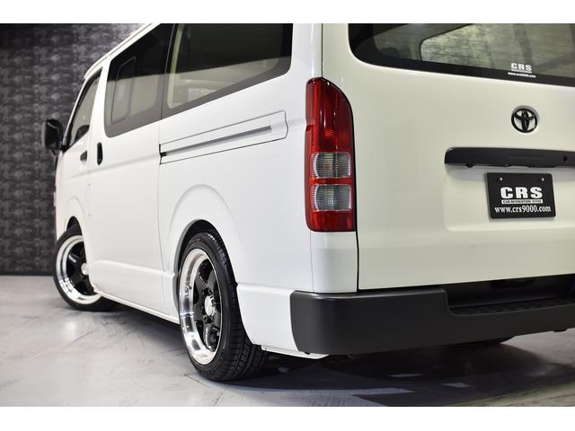 ロングDX CRSコントラストパッケージ バンテラ仕様 カスタムコンプリートカー 18AW ローダウン バッドフェイス フロントグリルマットブラック塗装(16枚目)