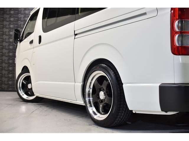 ロングDX CRSコントラストパッケージ バンテラ仕様 カスタムコンプリートカー 18AW ローダウン バッドフェイス フロントグリルマットブラック塗装(19枚目)