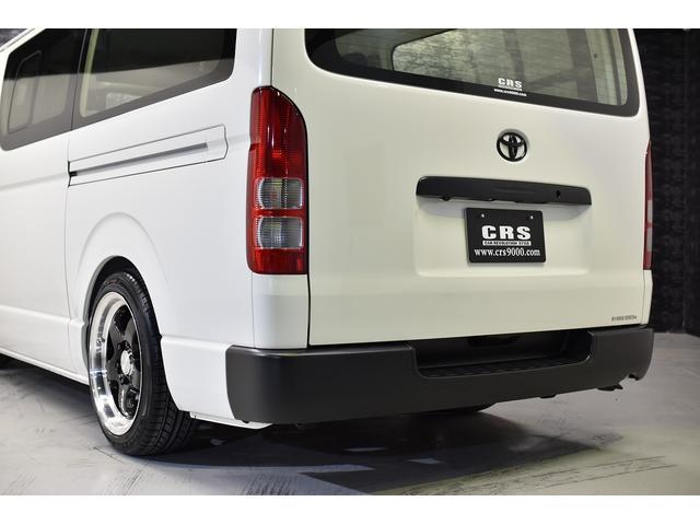 ロングDX CRSコントラストパッケージ バンテラ仕様 カスタムコンプリートカー 18AW ローダウン バッドフェイス フロントグリルマットブラック塗装(20枚目)