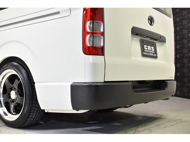 ロングDX CRSコントラストパッケージ バンテラ仕様 カスタムコンプリートカー 18AW ローダウン バッドフェイス フロントグリルマットブラック塗装(22枚目)