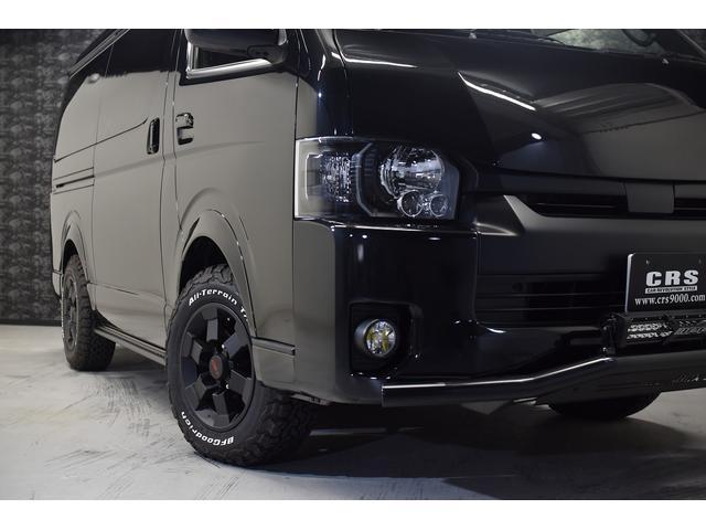 スーパーGL ダークプライム 自社ユーザー様買取・ワンオーナー・TRD16インチAW・3ナンバー乗用車登録・2インチリフトアップ・床フローリング・フェリソニン全面施工・マルチウェイベットキット・内装張り替え・スキッドバー・クルスロ(4枚目)