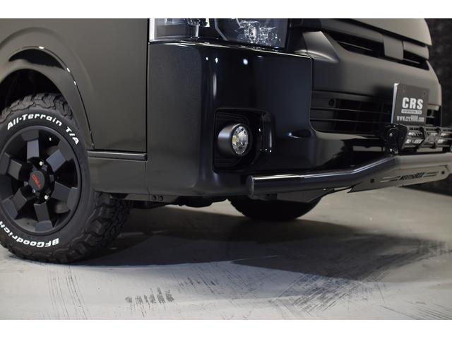 スーパーGL ダークプライム 自社ユーザー様買取・ワンオーナー・TRD16インチAW・3ナンバー乗用車登録・2インチリフトアップ・床フローリング・フェリソニン全面施工・マルチウェイベットキット・内装張り替え・スキッドバー・クルスロ(7枚目)