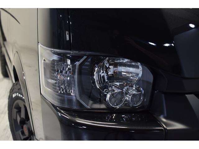 スーパーGL ダークプライム 自社ユーザー様買取・ワンオーナー・TRD16インチAW・3ナンバー乗用車登録・2インチリフトアップ・床フローリング・フェリソニン全面施工・マルチウェイベットキット・内装張り替え・スキッドバー・クルスロ(13枚目)