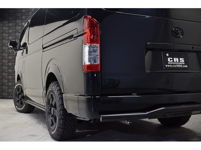 スーパーGL ダークプライム 自社ユーザー様買取・ワンオーナー・TRD16インチAW・3ナンバー乗用車登録・2インチリフトアップ・床フローリング・フェリソニン全面施工・マルチウェイベットキット・内装張り替え・スキッドバー・クルスロ(20枚目)