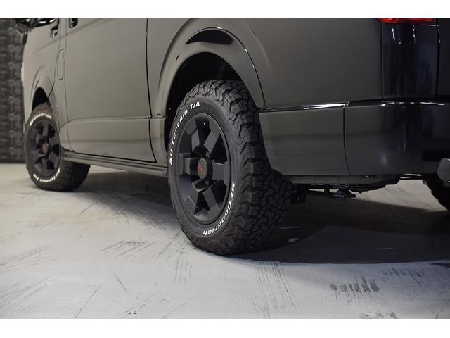 スーパーGL ダークプライム 自社ユーザー様買取・ワンオーナー・TRD16インチAW・3ナンバー乗用車登録・2インチリフトアップ・床フローリング・フェリソニン全面施工・マルチウェイベットキット・内装張り替え・スキッドバー・クルスロ(22枚目)