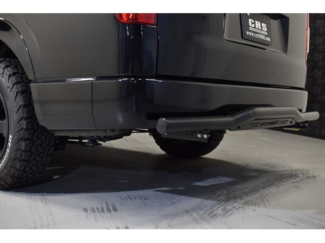 スーパーGL ダークプライム 自社ユーザー様買取・ワンオーナー・TRD16インチAW・3ナンバー乗用車登録・2インチリフトアップ・床フローリング・フェリソニン全面施工・マルチウェイベットキット・内装張り替え・スキッドバー・クルスロ(23枚目)