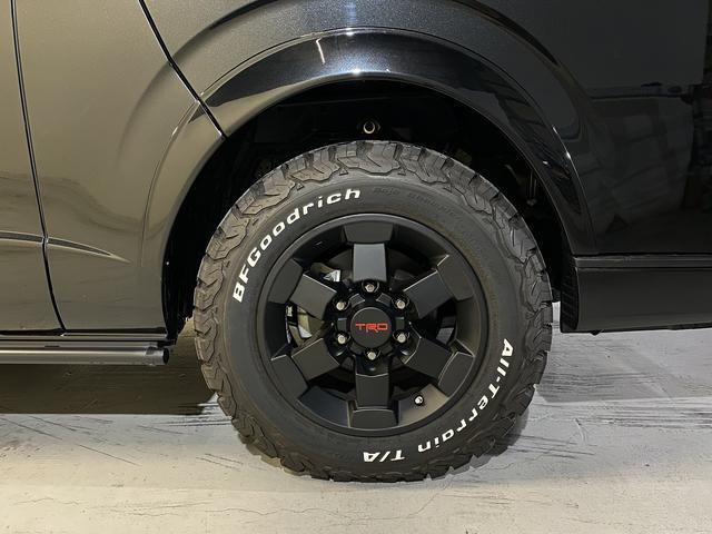 スーパーGL ダークプライム 自社ユーザー様買取・ワンオーナー・TRD16インチAW・3ナンバー乗用車登録・2インチリフトアップ・床フローリング・フェリソニン全面施工・マルチウェイベットキット・内装張り替え・スキッドバー・クルスロ(58枚目)