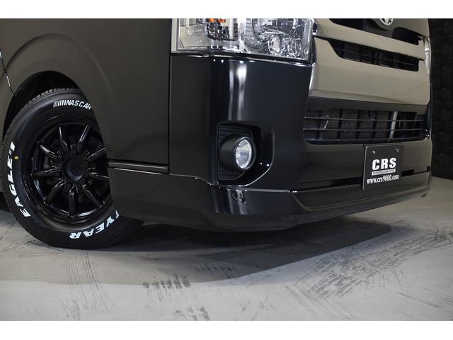 スーパーGL ダークプライム CRSユーズドコンプリートカー入庫・ESSEXフロントリップスポイラーVer4・ファブレスバローネ16インチAW・ローダウン・LEDヘッドライト・両側パワースライドドア・プッシュスタート(7枚目)