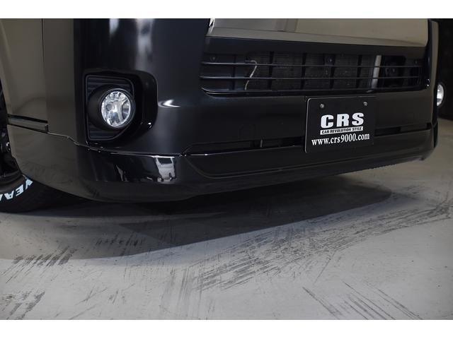 スーパーGL ダークプライム CRSユーズドコンプリートカー入庫・ESSEXフロントリップスポイラーVer4・ファブレスバローネ16インチAW・ローダウン・LEDヘッドライト・両側パワースライドドア・プッシュスタート(8枚目)