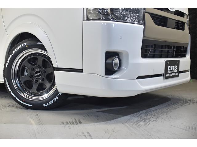スーパーGL ダークプライムII CRSコンプリート 新車 17インチアルミホイール ローダウン ムッチリスタイル(8枚目)