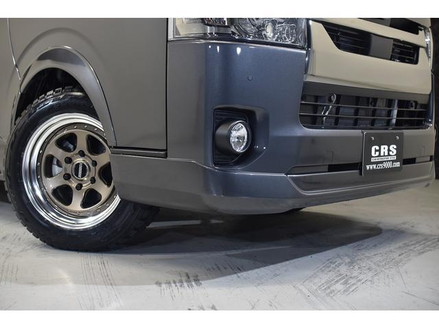 スーパーGL ダークプライムII CRSコンプリート ESSEXフロントリップスポイラー 17インチアルミホイール タイヤ17インチオープンカントリー  ベッドキット ESSEXパーツ(9枚目)