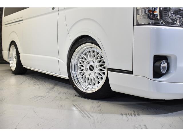 スーパーGL ダークプライムII 自社ユーズドコンプリート車両入庫・ESSEXフロントリップスポイラー・ENCM18インチAW・リーガルフェンダー・モデリスタリアウィング・イクリプスSDナビゲーション・LEDヘッド・両側パワスラ(6枚目)