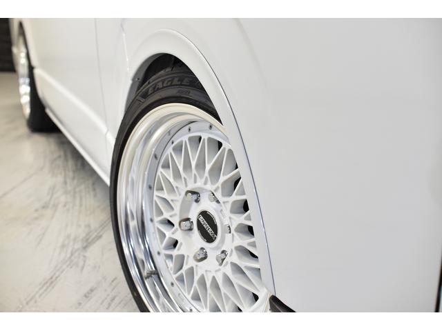 スーパーGL ダークプライムII 自社ユーズドコンプリート車両入庫・ESSEXフロントリップスポイラー・ENCM18インチAW・リーガルフェンダー・モデリスタリアウィング・イクリプスSDナビゲーション・LEDヘッド・両側パワスラ(9枚目)