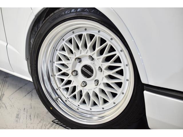 スーパーGL ダークプライムII 自社ユーズドコンプリート車両入庫・ESSEXフロントリップスポイラー・ENCM18インチAW・リーガルフェンダー・モデリスタリアウィング・イクリプスSDナビゲーション・LEDヘッド・両側パワスラ(10枚目)