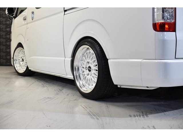 スーパーGL ダークプライムII 自社ユーズドコンプリート車両入庫・ESSEXフロントリップスポイラー・ENCM18インチAW・リーガルフェンダー・モデリスタリアウィング・イクリプスSDナビゲーション・LEDヘッド・両側パワスラ(22枚目)