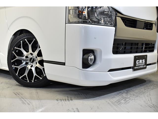 スーパーGL ダークプライムII CRSコンプリート ESSEXフロントリップスポイラー 18インチアルミホイール タイヤ18インチ ESSEXローダウンブロック ボンネット 車中泊ベッドキット(10枚目)