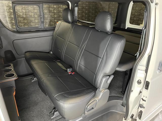 スーパーGL ダークプライムII CRSコンプリート ESSEXフロントリップスポイラー 18インチアルミホイール タイヤ18インチ ESSEXローダウンブロック ボンネット 車中泊ベッドキット(15枚目)