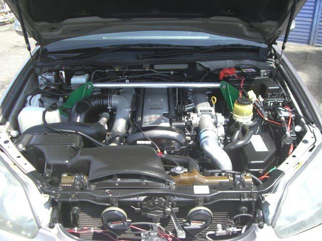 トヨタ マークII iR-Vフォーチュナ前置インタークーラー ETC マフラー