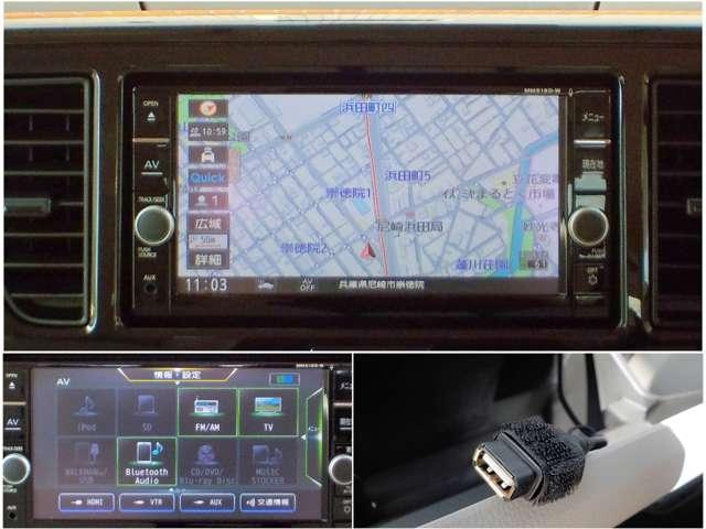 660 S 衝突被害軽減ブレーキ 手動スライドドア フルセグ地デジTV内蔵メモリナビ バックカメラ キ-レス エマージェンシーブレーキ 踏み間違い衝突防止アシスト 手動スライドドア アイドリングストップ Bluetoothオーディオ ETC USB端子(5枚目)