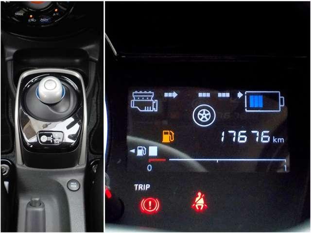 e-パワー X 衝突時被害軽減ブレ-キ 踏み間違い衝突防止アシスト メモリーナビ フルセグTV Bluetooth DVDビデオ再生 ハイビームアシスト オートライト インテリジェントキー ETC(7枚目)