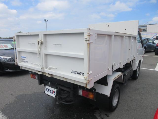 ダンプ 積載700kg フル装備 ワンオーナー(6枚目)