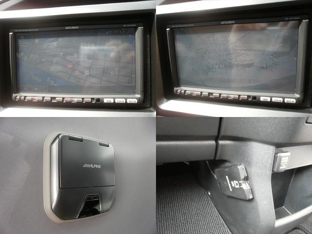 ホンダ ステップワゴンスパーダ Z 社外HDDナビフルセグ フリップDモニター 両電スライド