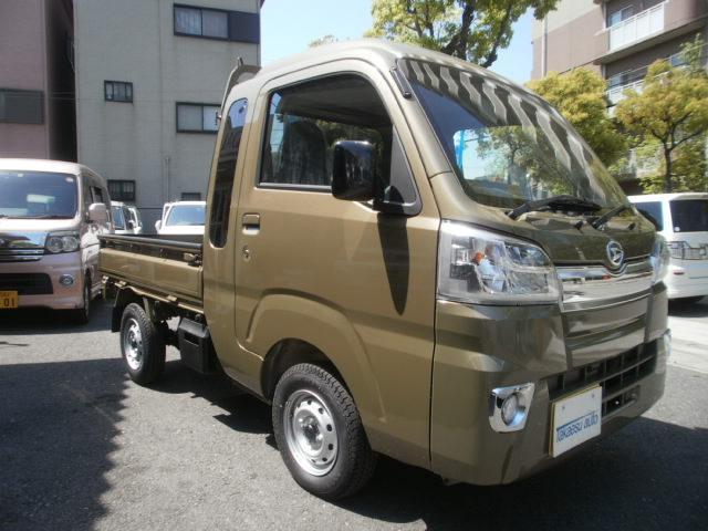 ダイハツ ハイゼットトラック ジャンボ 純LEDライト ABS キーレス 登録済み未使用車