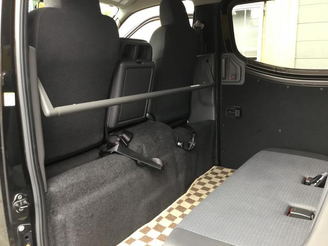 ロングDXターボ 走行38200キロ ディーゼルターボ EXパック 電格ミラー 同色バンパー 純SDナビ フルセグTV Bカメラ ETC 社外テールランプ 5ドア 6人乗り 最大積載1200キロ(33枚目)