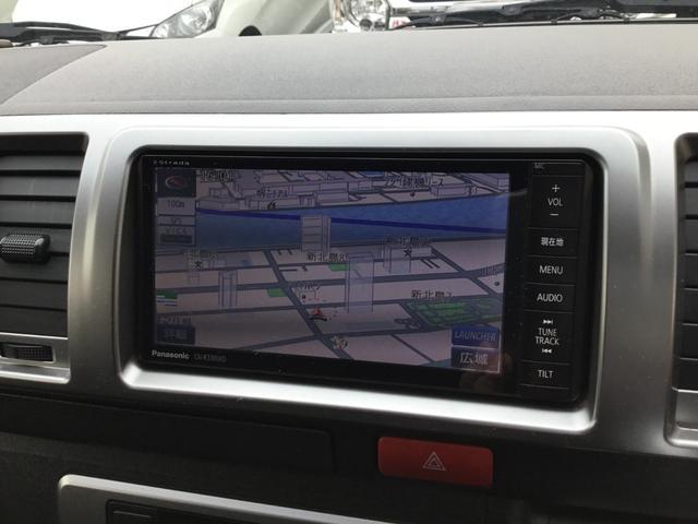 ロングスーパーGL 走行31800キロ・LEDヘッドライト・社外SDナビ・フルセグTV・DVDビデオ・USBケーブル・Bカメラ・ETC・荷室板張りフローリング調・AC100V電源・スマートキー・Pスタート(4枚目)