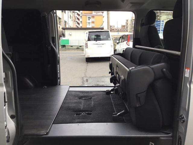 ロングスーパーGL 走行31800キロ・LEDヘッドライト・社外SDナビ・フルセグTV・DVDビデオ・USBケーブル・Bカメラ・ETC・荷室板張りフローリング調・AC100V電源・スマートキー・Pスタート(44枚目)