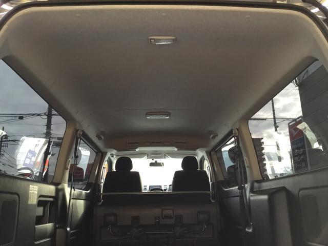 ロングスーパーGL 走行31800キロ・LEDヘッドライト・社外SDナビ・フルセグTV・DVDビデオ・USBケーブル・Bカメラ・ETC・荷室板張りフローリング調・AC100V電源・スマートキー・Pスタート(50枚目)