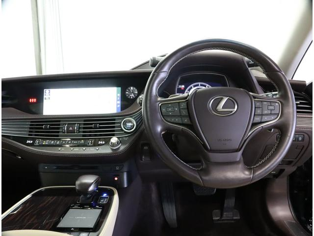 LS500 Iパッケージ 認定中古車 デジタルインナーミラー ムーンルーフ(6枚目)