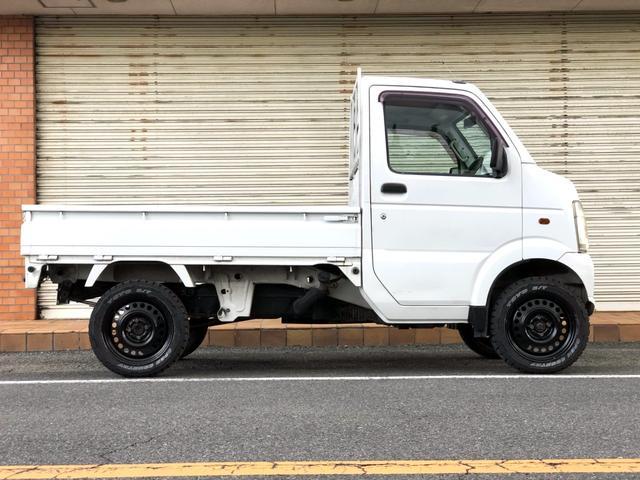KCエアコン・パワステ リフトアップ カスタム アゲトラ 5MT キャンピングカーベース DIY 軽トラカスタム(4枚目)