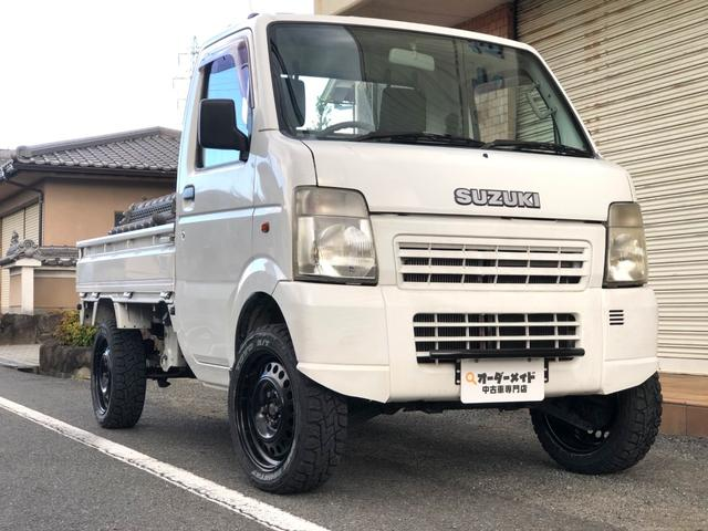 KCエアコン・パワステ リフトアップ カスタム アゲトラ 5MT キャンピングカーベース DIY 軽トラカスタム(6枚目)