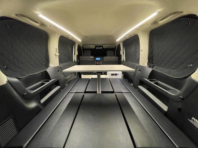 キャンピングカー トランポ 新品架装 車中泊 8ナンバー キャンパー ベッドキット サブバッテリー 走行充電器 USB/DC電源 バンコン 事務室 移動販売車(53枚目)