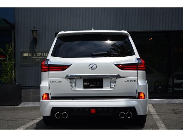 LX570 ZEUS新車カスタムコンプリート ローダウン(6枚目)