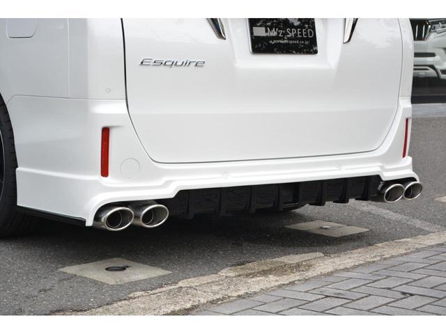 Gi プレミアムパッケージ ブラックテーラード ZEUS新車カスタムコンプリートカー・エアロ・F/S/R・グリル・FT・ダウンサス・18インチAW・マフラー・モデリスタ製リアスポイラー・カロッツェリアナビ・ETC・バックカメラ(16枚目)