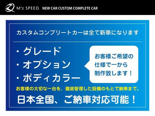 Z ZEUS新車カスタムコンプリートカー・エアロ・F/S/R/・17インチAW・アルパインナビ・ETC・ナビレディパッケージ付(3枚目)