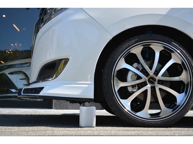 ハイブリッドGiプレミアムパッケジブラックテーラード 7人乗 ZEUS新車カスタムコンプリートカー・エアロ・F/S/R・グリル・FT・リアウィング・メッキピラー・車高調・19インチAW・マフラー・アルパイン11型ナビ・ETC・バックカメラ(9枚目)