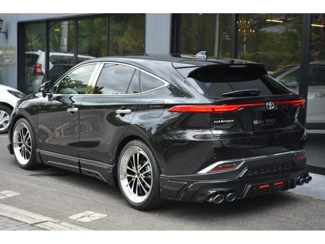 G ZEUS新車カスタムコンプリートカー・エアロ3点・グリル・リアウィング・メッキピラー・ドアミラー・車高調・22インチ・マフラー・LEDバックフォグ・キャリパーカバー・BSM・12.3型ナビ・ETC(4枚目)