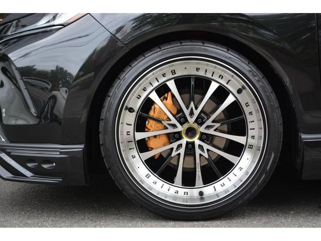 G ZEUS新車カスタムコンプリートカー・エアロ3点・グリル・リアウィング・メッキピラー・ドアミラー・車高調・22インチ・マフラー・LEDバックフォグ・キャリパーカバー・BSM・12.3型ナビ・ETC(8枚目)