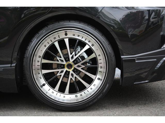 G ZEUS新車カスタムコンプリートカー・エアロ3点・グリル・リアウィング・メッキピラー・ドアミラー・車高調・22インチ・マフラー・LEDバックフォグ・キャリパーカバー・BSM・12.3型ナビ・ETC(9枚目)