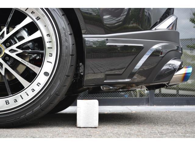 G ZEUS新車カスタムコンプリートカー・エアロ3点・グリル・リアウィング・メッキピラー・ドアミラー・車高調・22インチ・マフラー・LEDバックフォグ・キャリパーカバー・BSM・12.3型ナビ・ETC(12枚目)